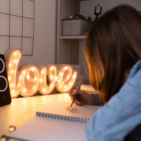 Inscription Lights My Love...