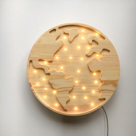 Earth Lamp Lights My Love
