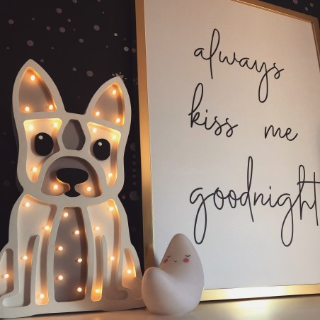 Buldog Lamp Lights My Love